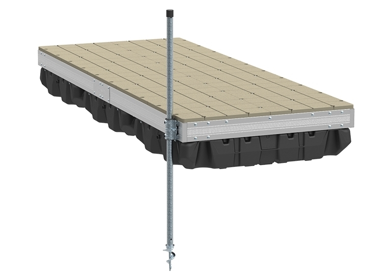 Picture of Aluminum Floating Dock w/ Resin Top