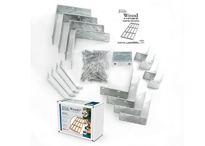 Picture of Wood Dock Frame Kit