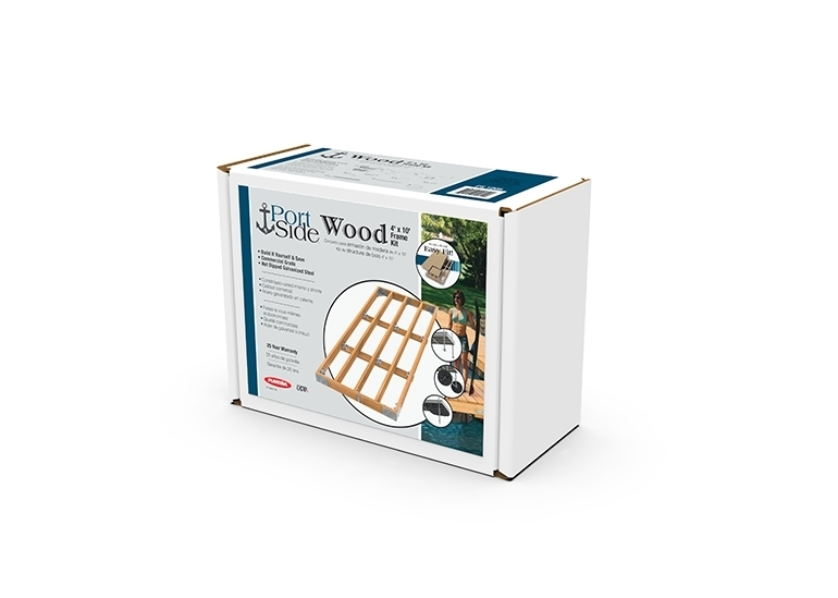 Wood Dock Frame Kit